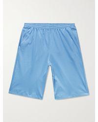 Zimmerli Cotton-jersey Shorts - Blue