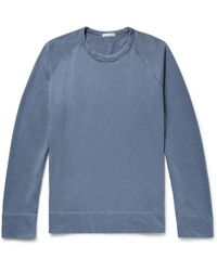 James Perse - Loopback Supima Cotton-jersey Sweatshirt - Lyst