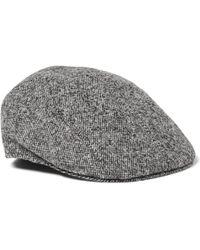 Altea Wool-blend Tweed Flat Cap - Gray