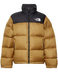 The North Face 1996 Nuptse Colour-block Quilted Nylon-ripstop Down Jacket - Brown