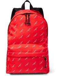 Balenciaga - Explorer Printed Nylon Backpack - Lyst