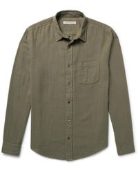 Outerknown Organic Cotton Shirt - Green
