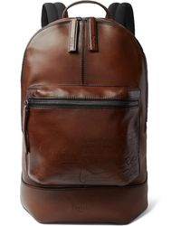 Berluti - Volume Large Leather Backpack - Lyst