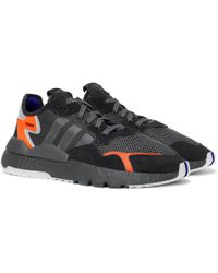 adidas Originals - Nite Jogger Suede And Rubber-trimmed Mesh And Ripstop  Sneakers - Lyst 54aac8707