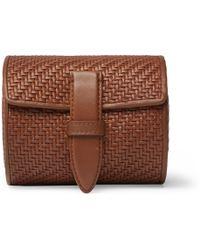 Ermenegildo Zegna - Pelle Tessuta Leather Watch Roll - Lyst