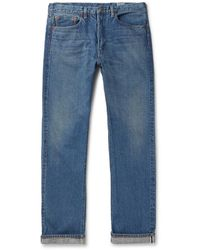 Orslow 107 Slim-fit Selvedge Denim Jeans - Blue