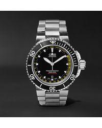 Oris Aquis Depth Gauge Automatic 46mm Stainless Steel Watch, Ref. No. 73376754154-set - Black