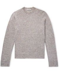 Our Legacy - Mélange Knitted Jumper - Lyst