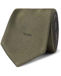 Valentino - Garavani 6cm Silk-twill Tie - Lyst