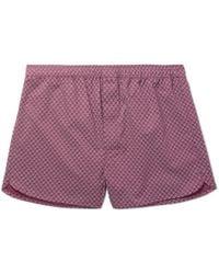 Derek Rose - Nelson Printed Cotton Boxer Shorts - Lyst
