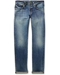The Workers Club Slim-fit Selvedge Denim Jeans - Blue