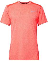 Nike - Miler Dri-fit Mesh T-shirt - Lyst