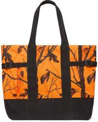 Carhartt WIP Printed Cordura Tote Bag - Orange