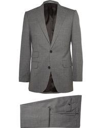 Thom Sweeney Grey Weighouse Slim-fit Wool Suit - Gray