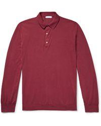 Boglioli - Slim-fit Cotton Polo Shirt - Lyst