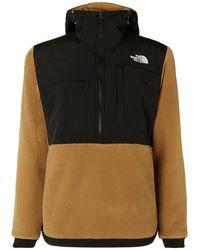 10502fdfc Denali Panelled Fleece And Shell Jacket - Brown