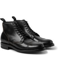 Viberg - Service Leather Boots - Lyst