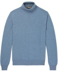 Loro Piana - Slim-fit Baby Cashmere Rollneck Sweater - Lyst