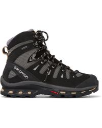 Yves Salomon - Quest 4d 2 Nubuck And Gore-tex Hiking Boots - Lyst
