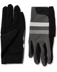Rapha Brevet Reflective-trimmed Polartec Cycling Gloves - Black