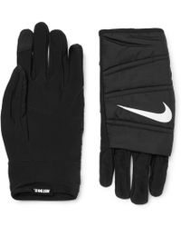 Nike - Quilted Training Gloves - Lyst