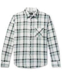 Rag & Bone | Fit 3 Beach Checked Double-faced Cotton Shirt | Lyst