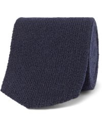 Richard James - 7cm Knitted Cashmere Tie - Lyst