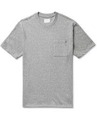 Aimé Leon Dore Mélange Slub Cotton-jersey T-shirt - Grey