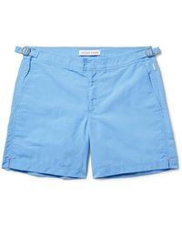 Orlebar Brown - Bulldog Mid-length Swim Shorts - Lyst