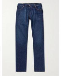 Thom Sweeney Slim-fit Denim Jeans - Blue