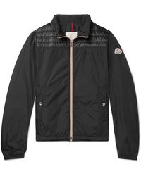 Moncler Portnuff Shell Bomber Jacket - Black