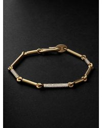 MAOR The Orion 18-karat Gold Diamond Bracelet - Metallic