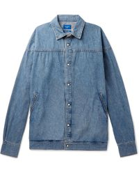 Beams Plus - Washed-denim Shirt - Lyst