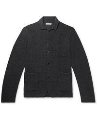 Alex Mill Unstructured Merino Wool Blazer - Grey
