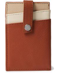 Want Les Essentiels De La Vie - Kennedy Leather Cardholder With Money Clip - Lyst