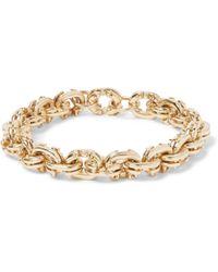 Luis Morais - 14-karat Gold Bracelet - Lyst