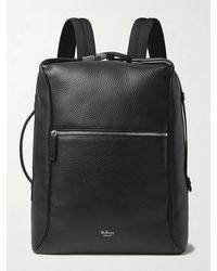 Mulberry Urban Full-grain Leather Backpack - Black