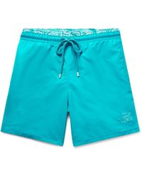 Vilebrequin - Moloka Mid-length Printed Swim Shorts - Lyst