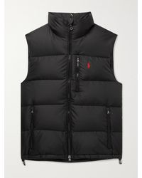 Polo Ralph Lauren Quilted Recycled Ripstop Down Gilet - Black