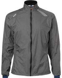 Soar Running Waterproof Shell Jacket - Grey