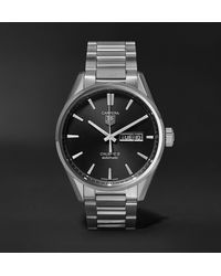 Tag Heuer Carrera Automatic 41mm Steel Watch, Ref. No. War201a.ba0723 - Black
