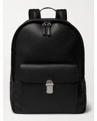 Dunhill Belgrave Full-grain Leather Backpack - Black