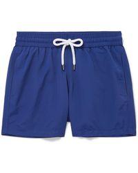 Frescobol Carioca - Slim-fit Short-length Swim Shorts - Lyst