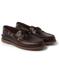 Sperry Top-Sider Authentic Original Leather Boat Shoes - Brown