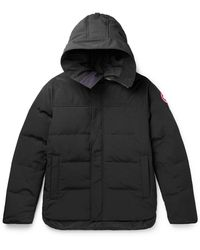 Canada Goose Macmillan Quilted Shell Hooded Down Parka - Black