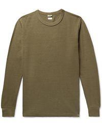 Visvim Slim-fit Cotton T-shirt - Green