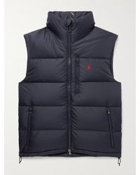 Polo Ralph Lauren Quilted Recycled Ripstop Down Gilet - Blue