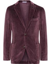 Boglioli - Grape K-jacket Unstructured Cotton-velvet Blazer - Lyst