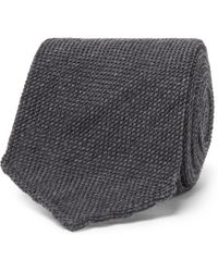 Thom Sweeney - 8cm Woven Wool And Silk-blend Tie - Lyst