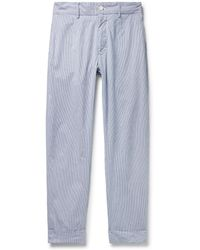 Engineered Garments   Andover Slim-fit Cotton-cordlane Trousers   Lyst